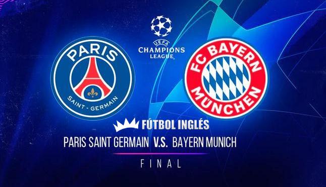 PSG vs Bayern Munich final Champions League