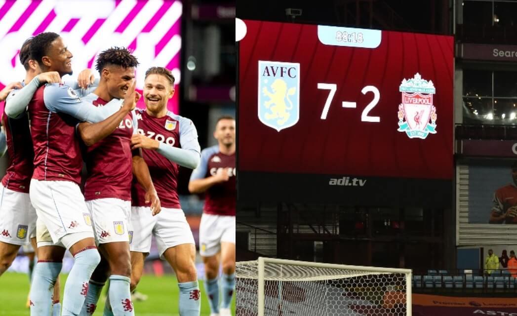 Historia pura: Aston Villa aplasta al Liverpool 7-2 ...